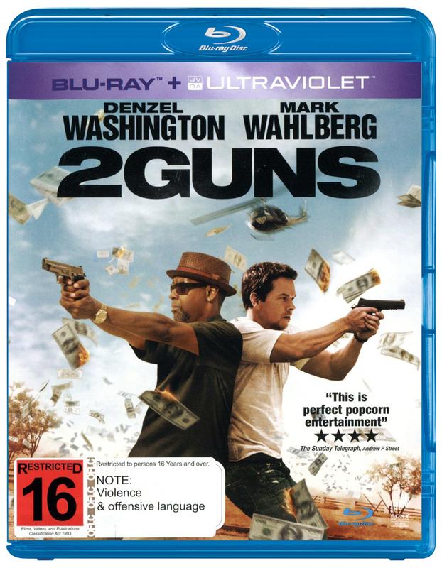 2 Guns on Blu-ray, UV