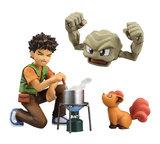 Pokemon: G.E.M. - Brock, Geodude & Vulpix