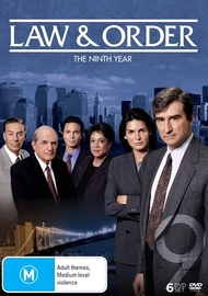 Law and Order - The Ninth Year (6 Disc Set) on DVD