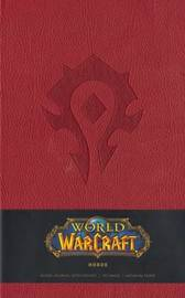 Warcraft Blank Journal - Horde Red (Large) by Blizzard Entertainment