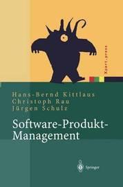 Software-Produkt-Management by Hans-Bernd Kittlaus