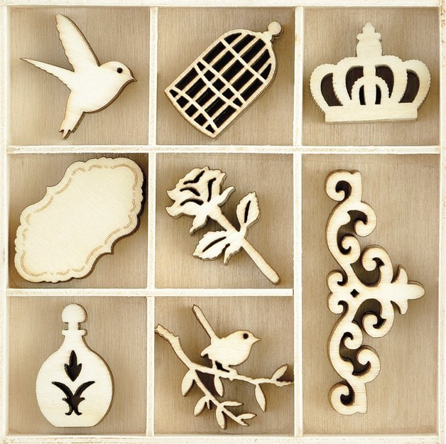 Kaisercraft: Flourish Pack - Pretty (40 Piece)