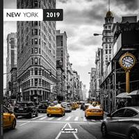 Aquarupella: New York 2019 Wall Calendar