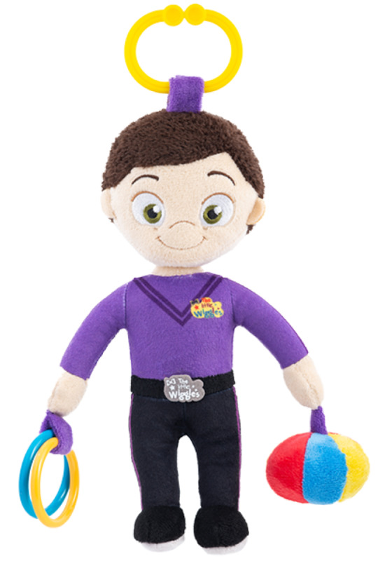 Little Wiggles: Plush Activity Toy - Lachy