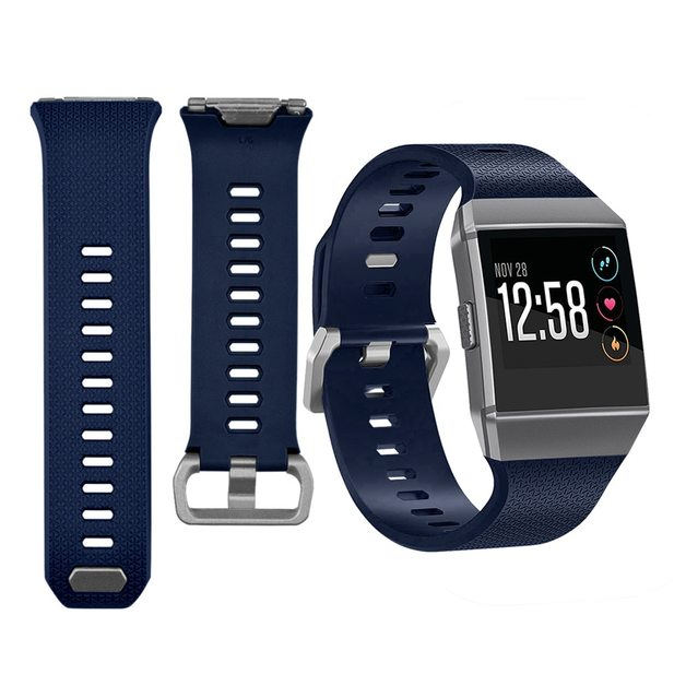 OEM Band For Fitbit ionic - Large (Navy Blue)