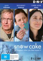 Snow Cake on DVD