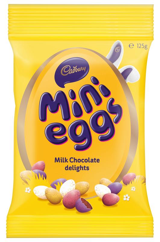 Cadbury Mini Eggs Bag 125g