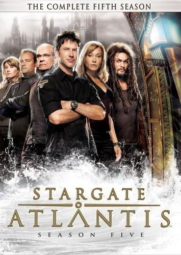 Stargate Atlantis - Complete Season 5 (5 Disc Slimline Set) on DVD