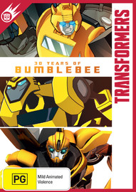 Transformers: 30 Years Of Bumblebee on DVD