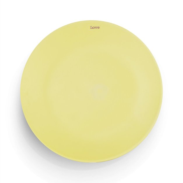 Side Plate Love - Yellow