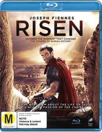 Risen on Blu-ray