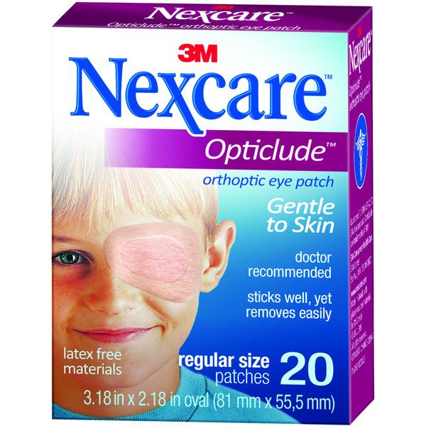 Nexcare Opticlude Orthoptic Eye Patch (Regular)