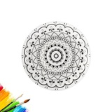 Maxwell & Williams: Mindfulness Plate - Mandala (19cm)