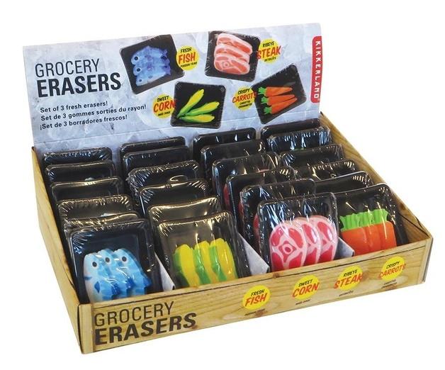 Grocery Eraser Set (Assorted Designs)