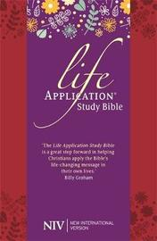 NIV Life Application Study Bible (Anglicised) by New International Version