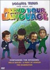 Mind Your Language, The Best Of - Volume 3 on DVD