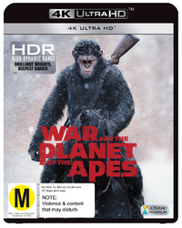War For The Planet Of The Apes on UHD Blu-ray