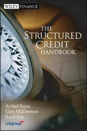 The Structured Credit Handbook by Arvind Rajan image
