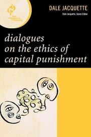Dialogues on the Ethics of Capital Punishment by Dale Jacquette image