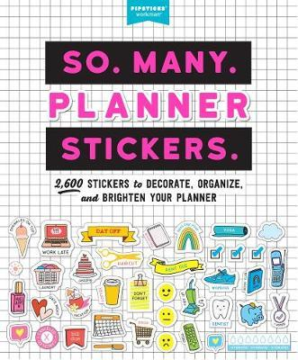 So. Many. Planner Stickers. by Pipsticks