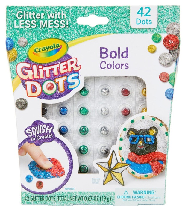 Crayola: Glitter Dots - Bold Colors Pack