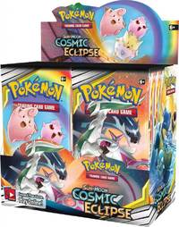 Pokemon TCG: Cosmic Eclipse Booster Box image
