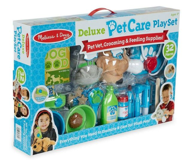 Melissa & Doug: Deluxe Pet Care Play Set