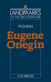 Alexander Pushkin: Eugene Onegin by A.D.P. Briggs image
