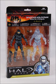 Halo Reach Series 4 Action Figure 2-pack - Spartan Hologram (Noble Six and Noble Six Hologram) images, Image 6 of 6