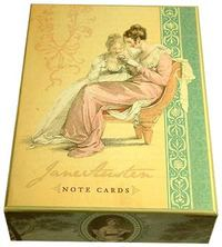 Jane Austen Note Cards (Box of 16 Cards) by Potter Style