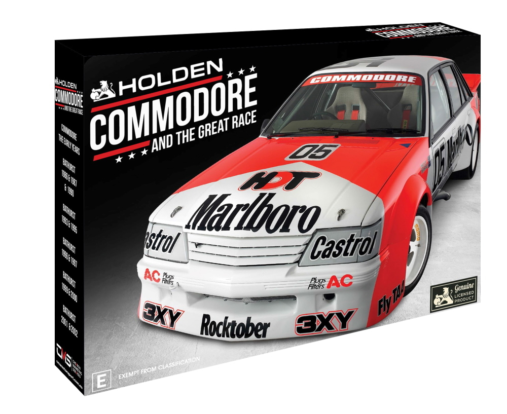 Commodore At The Great Race Collector's Set on DVD image