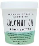 Organik Botanik Splotch Body Butter - Coconut Oil (200g)