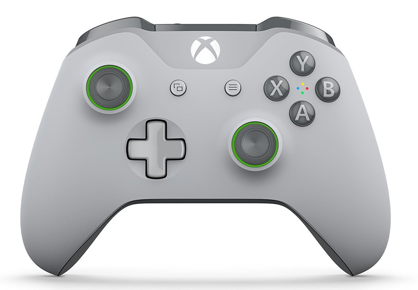 Xbox One Wireless Controller - Grey/Green (with Bluetooth) for Xbox One image