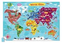 Crocodile Creek: Puzzle & Poster Set - World Cities