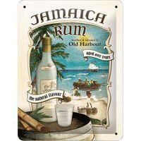 Nostalgic Art: Tin Sign - Jamaica Rum