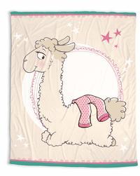 Nici: Llama Dalia - Fleece Blanket (125 x 160cm)