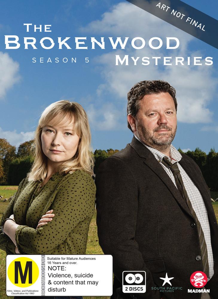The Brokenwood Mysteries - Series 5 on DVD image
