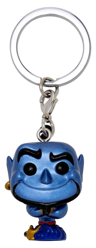 Aladdin - Genie Metallic Pocket Pop! Keychain