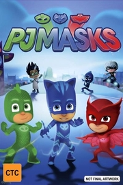 Pj Masks: Cracking The Case on DVD