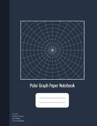 Polar Graph Paper Notebook by Graphyco Publishing image