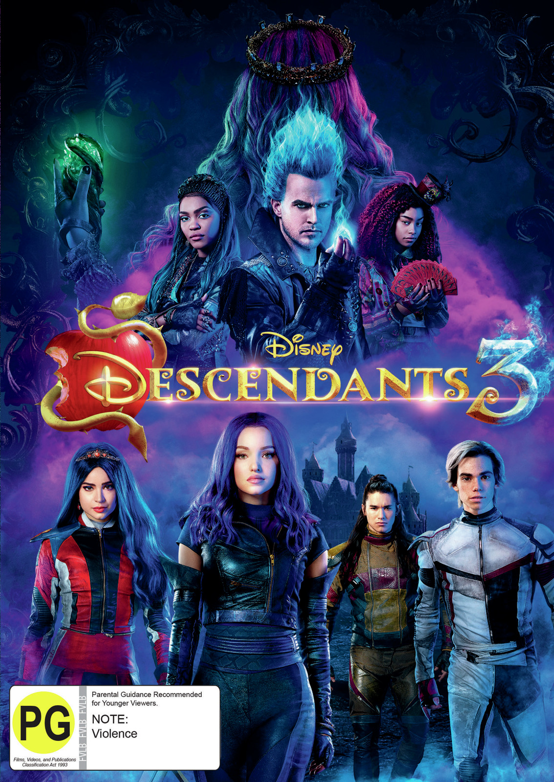 Descendants 3 on DVD image