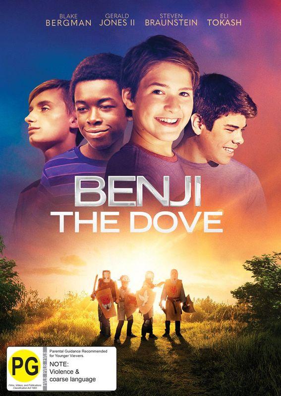 Benji The Dove on DVD