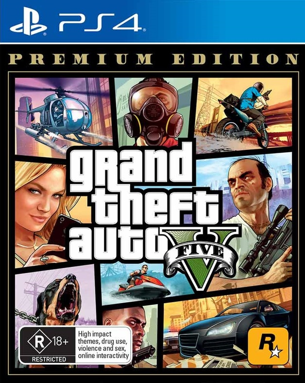 Grand Theft Auto V Online Premium Edition for PS4