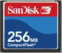 SanDisk CF Compact Flash 256MB Memory