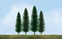 "JTT Scenic Cedar Trees 4""-6"" (24pk) - H0 Scale"