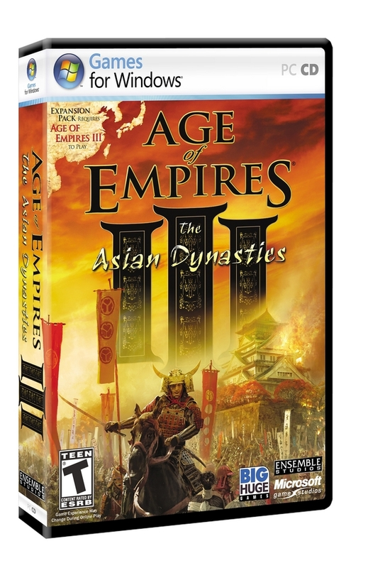 Age of Empires III: The Asian Dynasties for PC Games