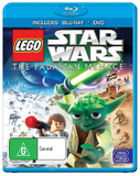 Lego Star Wars: The Padawan Menace on Blu-ray
