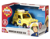 Fireman Sam - Vehicle & Accessory Set - Mountain Rescue 4x4