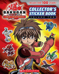 Bakugan: New Vestroia: Sticker Book #2 by Scholastic Inc image