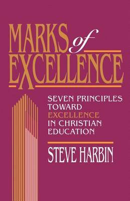 Marks of Excellence by Steve Harbin image